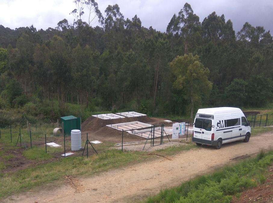 Planta piloto con humedales artificiales para el proyecto Wetwine Tomiño (5)